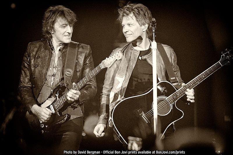 Bon Jovi, Photo by David Bergman, BonJovi.com/prints