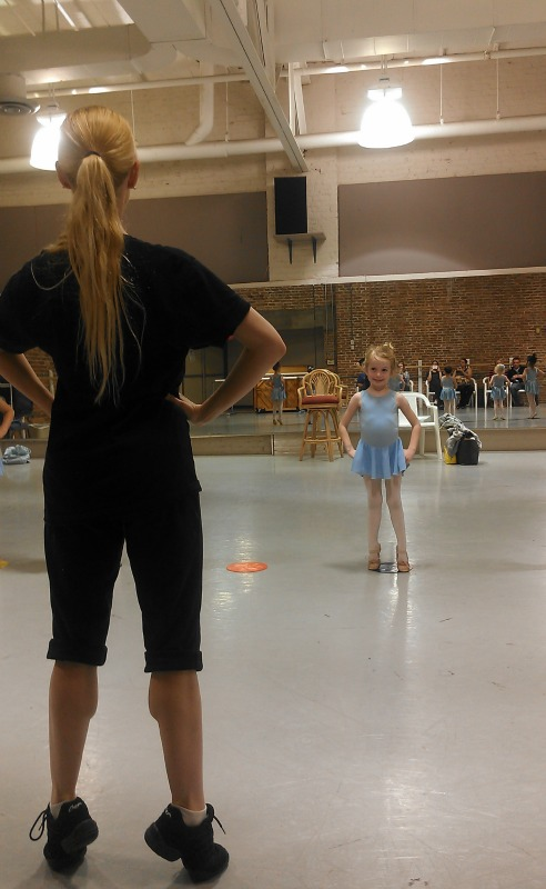 E at ballet