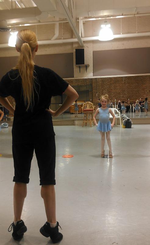 E at ballet