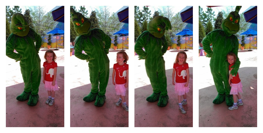 E and the Grinch