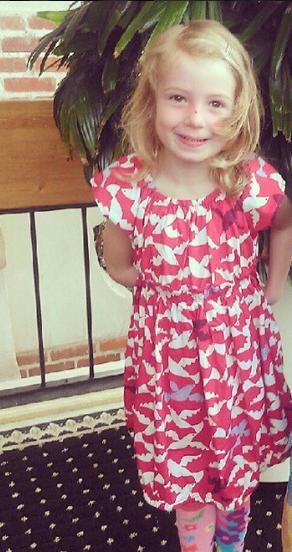 E's bird dress