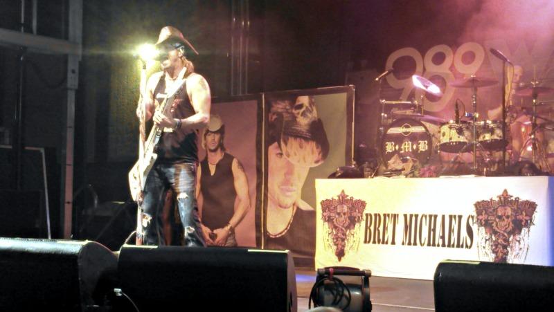 Bret Michaels show