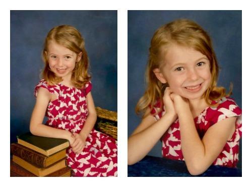 E school portraits