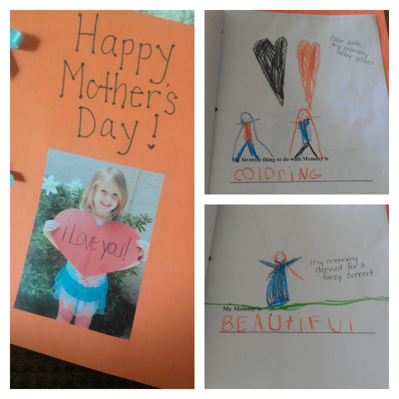 Mother's Day Book from E