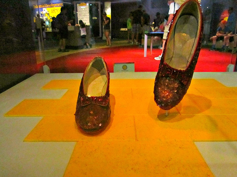 American History Museum: Dorothy's slippers