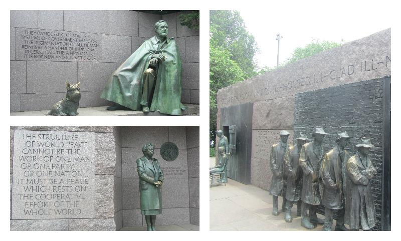 FDR Monument