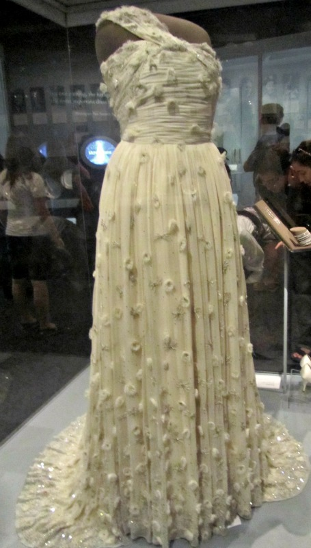 American History Museum: Michelle's dress