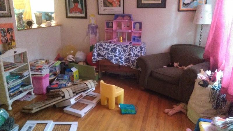 E's playroom