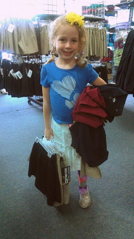 uniform shopping