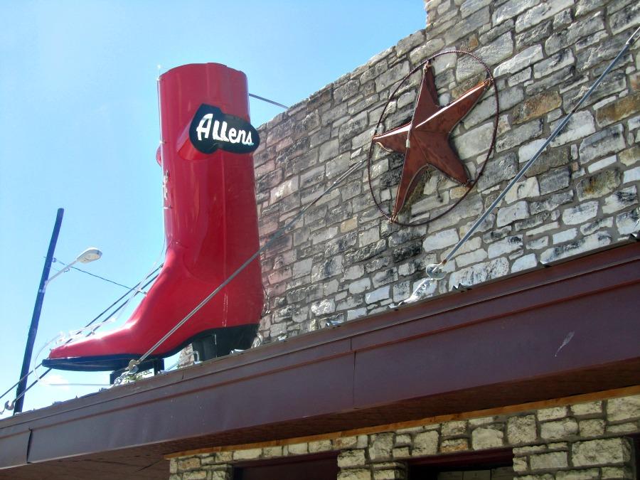 Austin: Allens boots