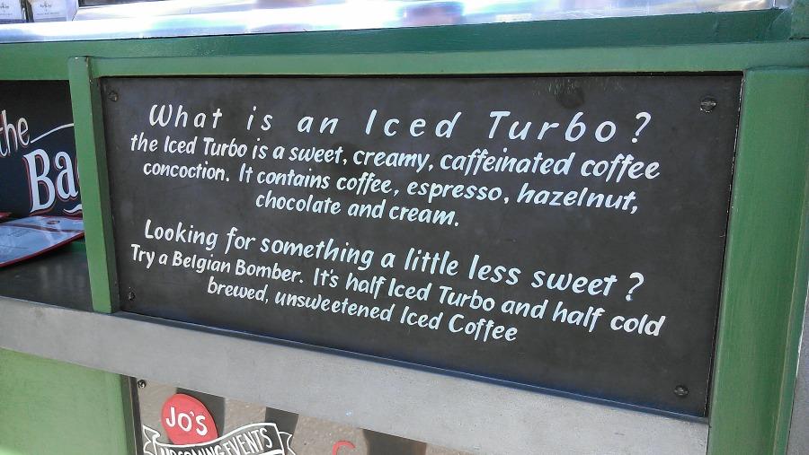Jo's Coffee: Iced Turbo