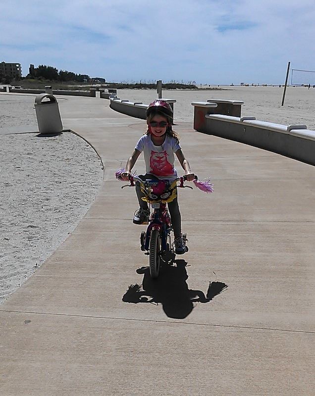 Treasure Island bike trail