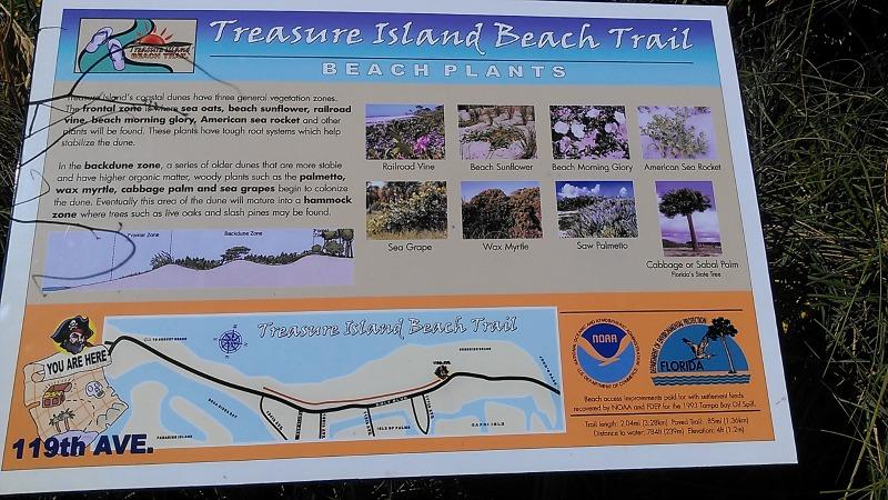 Treasure Island bike trail