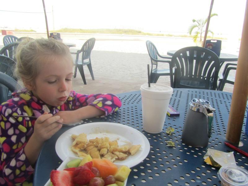 Bazzie's breakfast