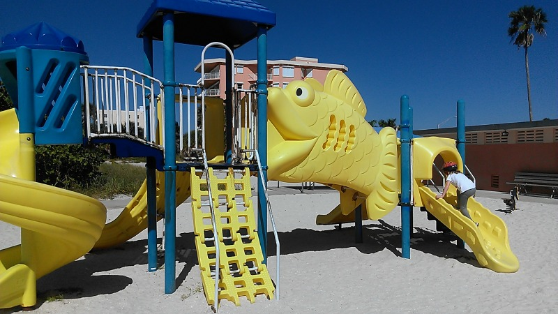 Treasure Island beach playground