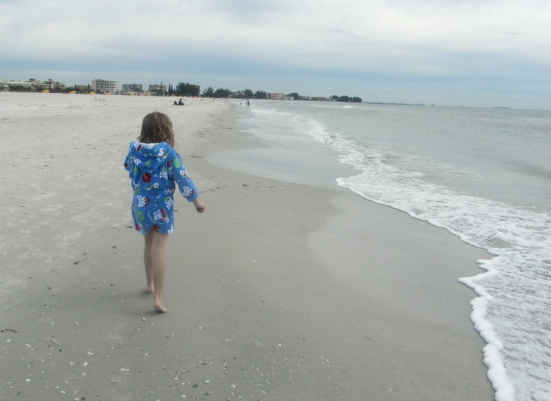 Shell hunting: Treasure Island