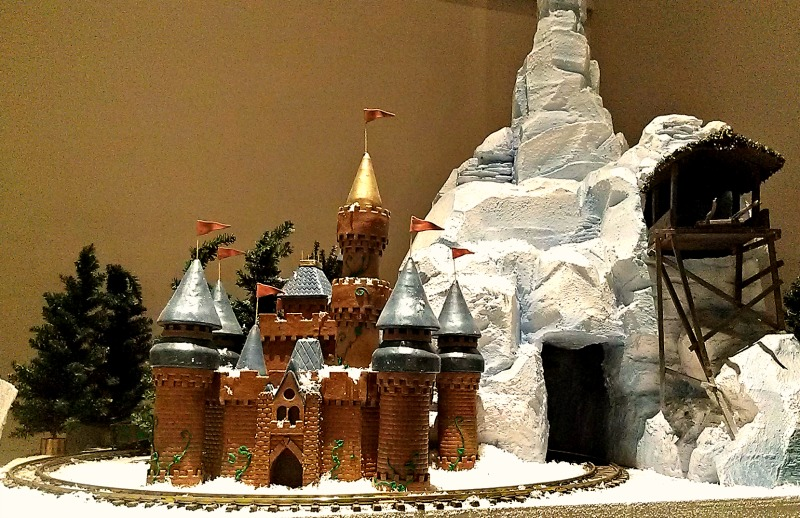 Gingerbread castle