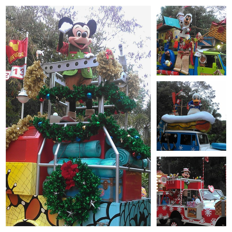 Jingle Jungle parade at Animal Kingdom