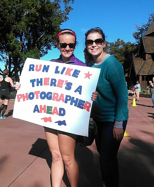 Disney Marathon cheering