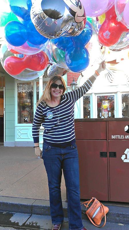 Birthday at Magic Kingdom