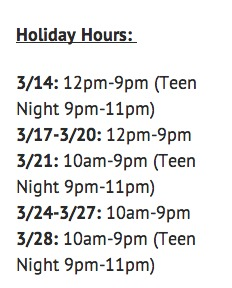 Airheads-holiday hours