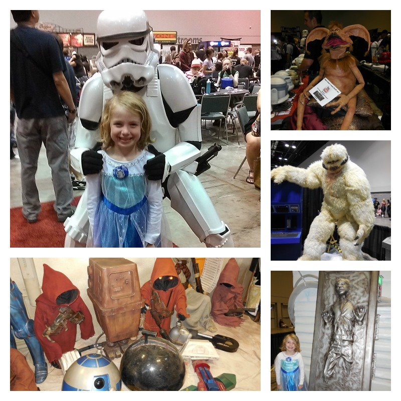 MegaCon Star Wars collage